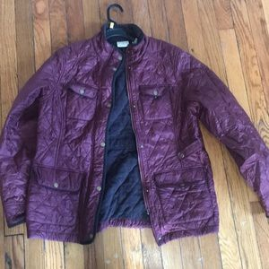 Burgundy L.L.Bean jacket